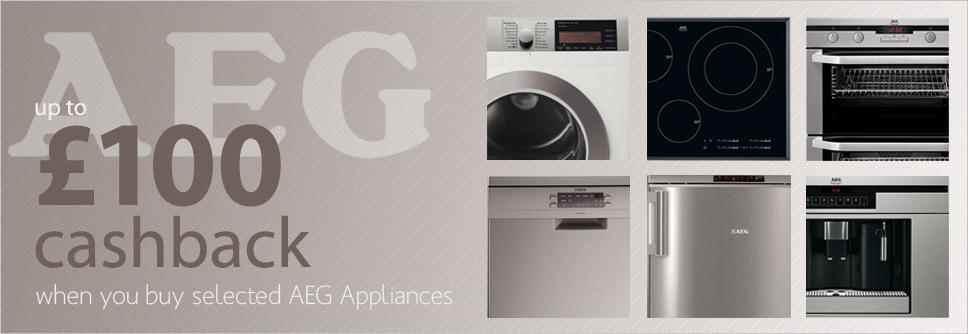 AEG Appliance Cashback Promotion