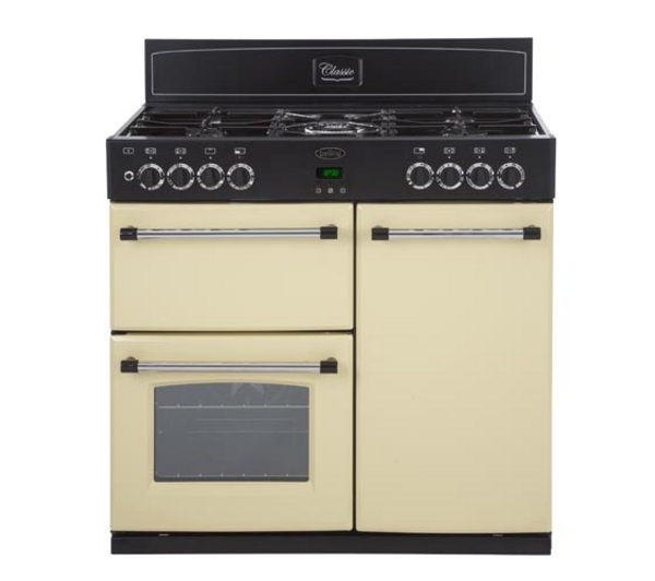 Electric range belling