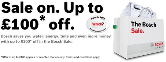 Bosch Kitchen Appliances Sale!