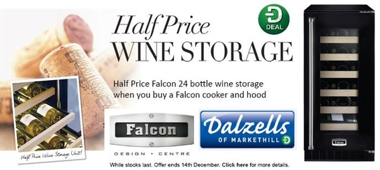 Falcon Range Cookers - Half Price Wine Coolers!