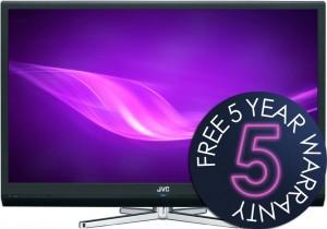 Free 5 Year Warranty JVC LCD TVs