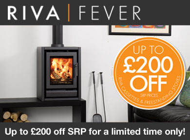 Gazco Riva Gas Fire Promotion - Up To £200 Off!