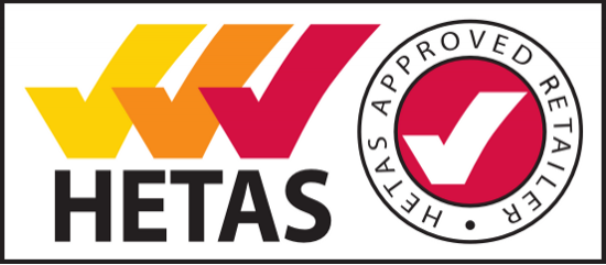 HETAS Approved Stove Retailer Northern Ireland