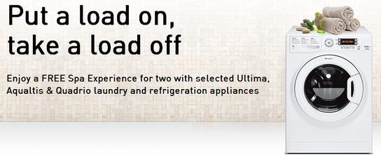 Hotpoint Aqualtis, Ultima & Quadrio Promotion - Free Spa Experience!