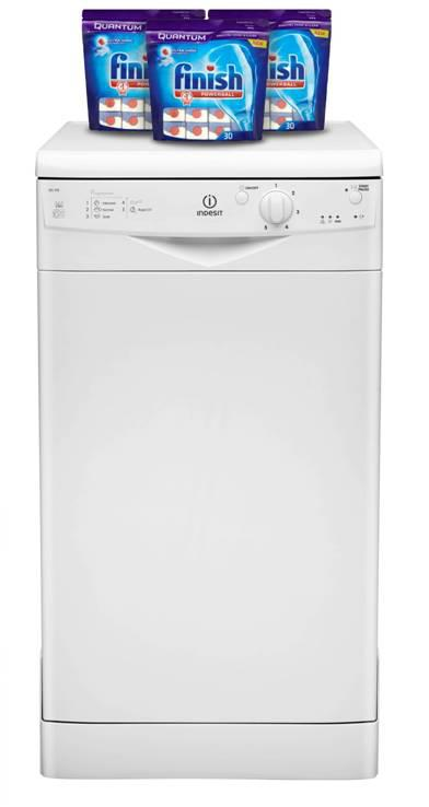 Indesit Dishwasher Promotion - Free Finish Tablets