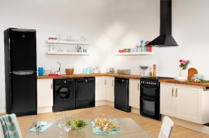 Indesit Nero Kitchen Appliance Collection