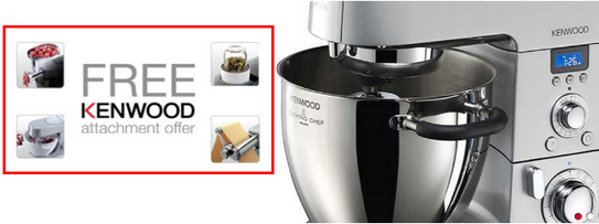 Kenwood Chef & Major Titanium Promotion