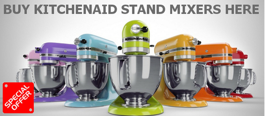 KitchenAid Artisan Stand Mixers Promotion - Free Glass Bowl!