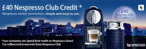 Magimix Nespresso Coffee Machine Promotion