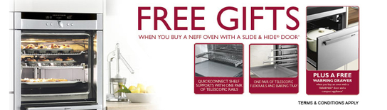 Neff Built-In Appliances - Free Gifts