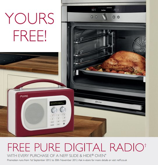 Neff Oven Promotion - Free Pure Evoke Mio DAB Radio