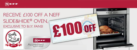 Neff Slide Hide Ovens - £100 Voucher!