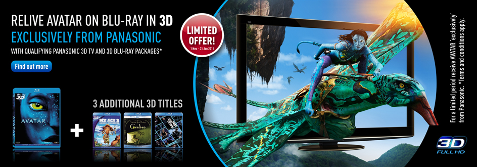 Panasonic Viera 3D Plasma TV Promotion