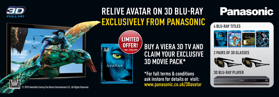 Panasonic Viera 3D TV Promotion