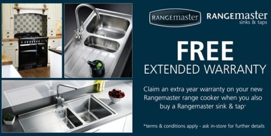 Rangemaster Range Cooker Extended Warranty Promotion!