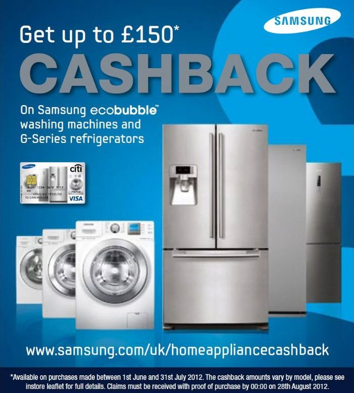 Samsung Cashback Promotion Northern Ireland