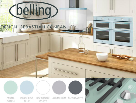The New Belling Sebastian Conran Kitchen Appliance Collection!
